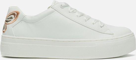 Marco Tozzi Sneaker Pour Les Femmes - Blanc (peigne Blanc 197), Taille: 38