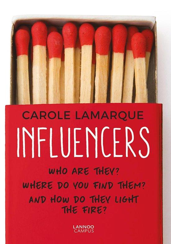 Boek cover Influencers van Carole Lamarque (Paperback)