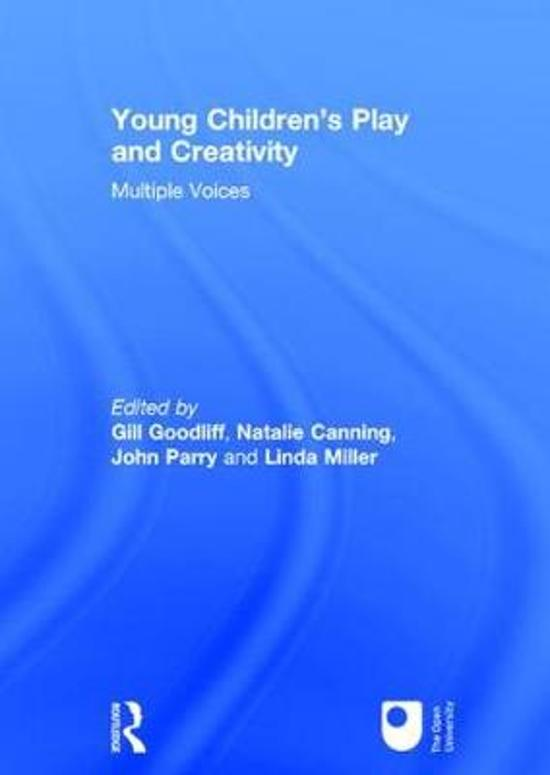 Young Children's Play and Creativity