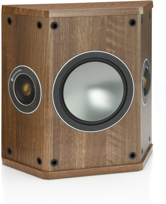 Monitor Audio Bronze FX Dipool/Bipool - Walnoot