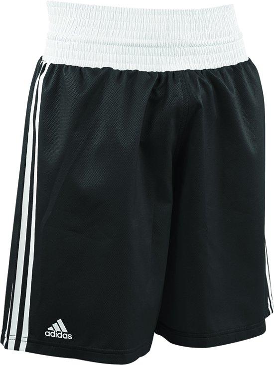 271b3919abc bol.com | adidas Amateur Boxing Short Lightweight Zwart/Wit Extra Small