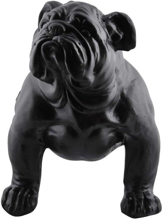 Esschert Design Tuinbank bulldog zwart AV14