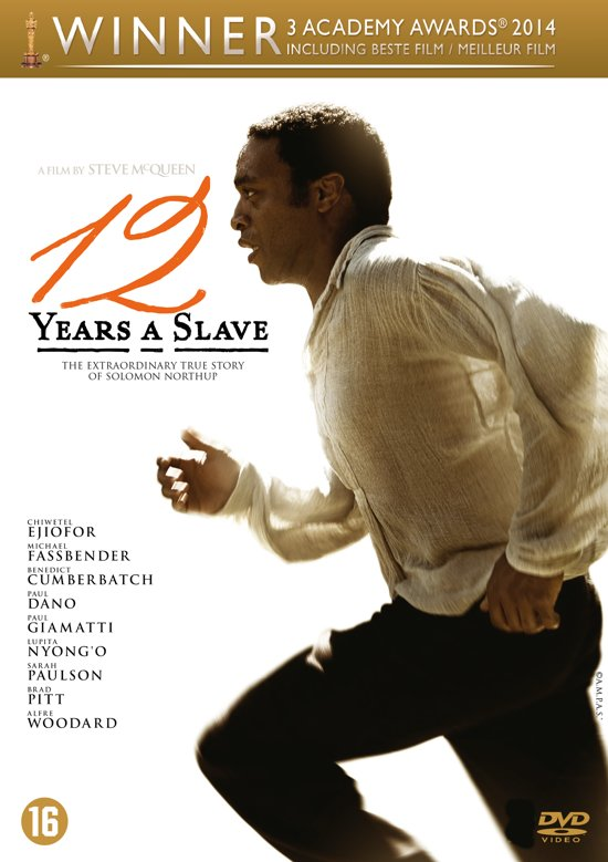 DVD cover van 12 Years A Slave