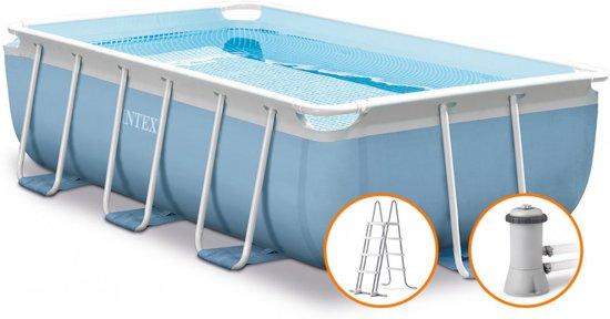 Intex Prism Frame zwembad 300 x 175 cm (met reparatiesetje)
