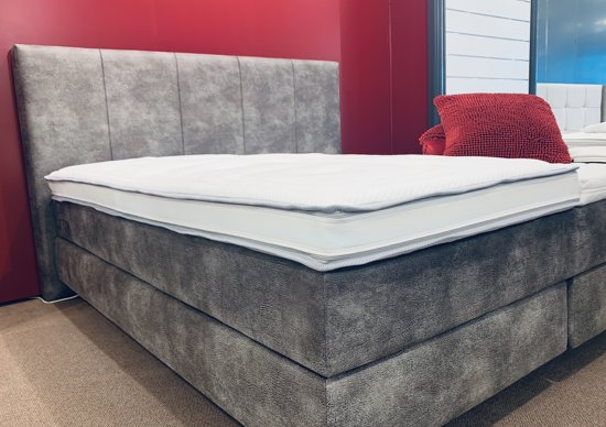 Luxe Hotel 4 seizoenen Topper  - 180x200cm - Traagschuim + Hybride HR - 12cm