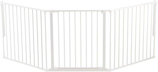 BabyDan Flex L Veiligheidsafscheiding - Wit