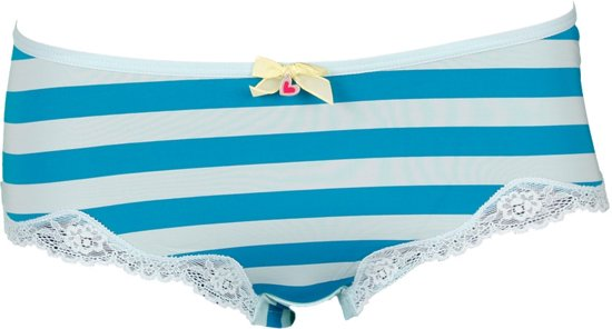 Schiesser - Bikini Hipster Tile Blauw - XS