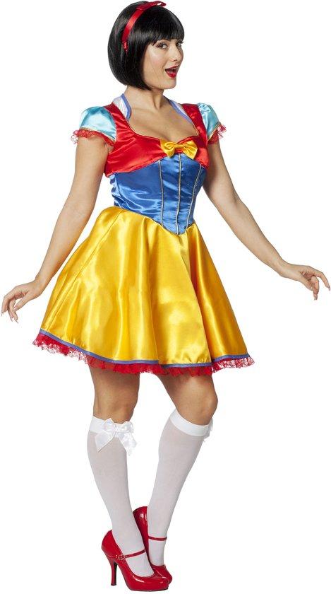 Sneeuwwitje Kostuum   Sprookjesprinses Sneeuwwitje   Vrouw   Maat 38   Bierfeest   Verkleedkleding