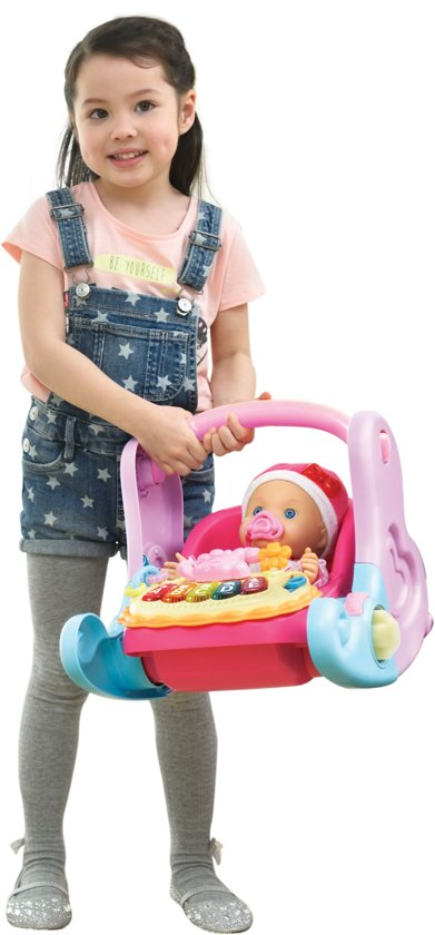 VTech Little Love 4 in 1 Babystoel Paars - Poppenstoel