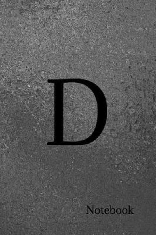 'd' Notebook
