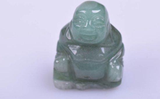 Edelsteen Aventurijn Boeddha beeldje - Gems and Giftshop