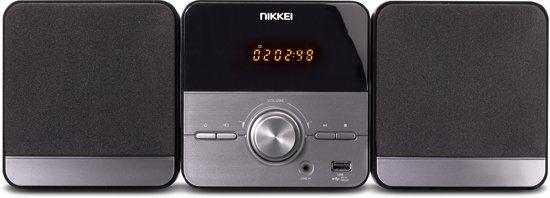 Nikkei NMC306 Microset met radio, MP3, CD-speler, USB-poort en AUX-IN