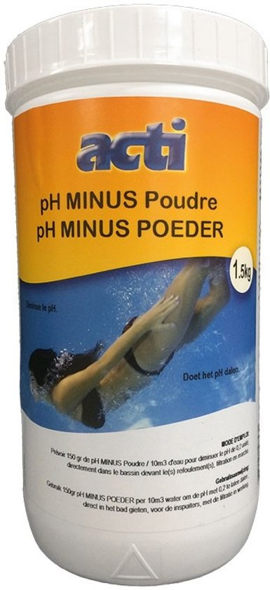 Acti pH-minus poeder 1,5 Kg