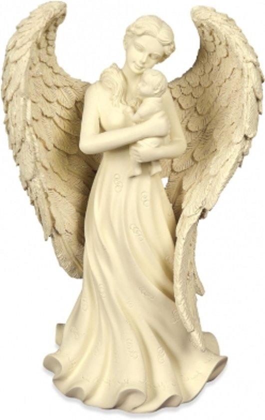 Engelbeeld met Baby (22 cm)