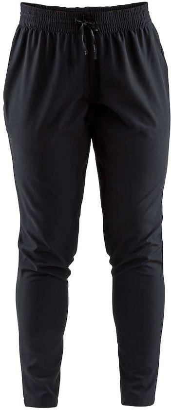 CRAFT Hardloopbroek Eaze Track Pants - Sportbroek - Dames - Black