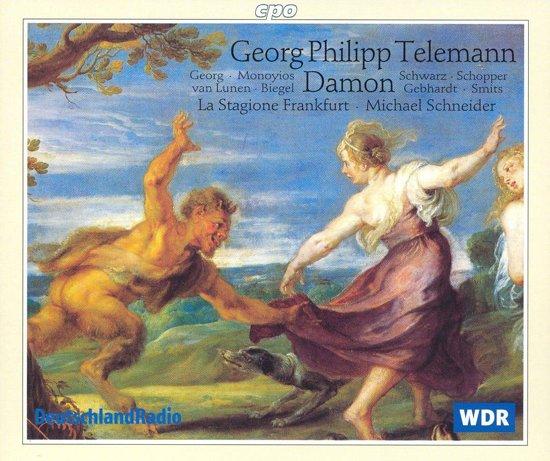 Telemann: Damon / Michael Schneider, La Stagione Frankfurt