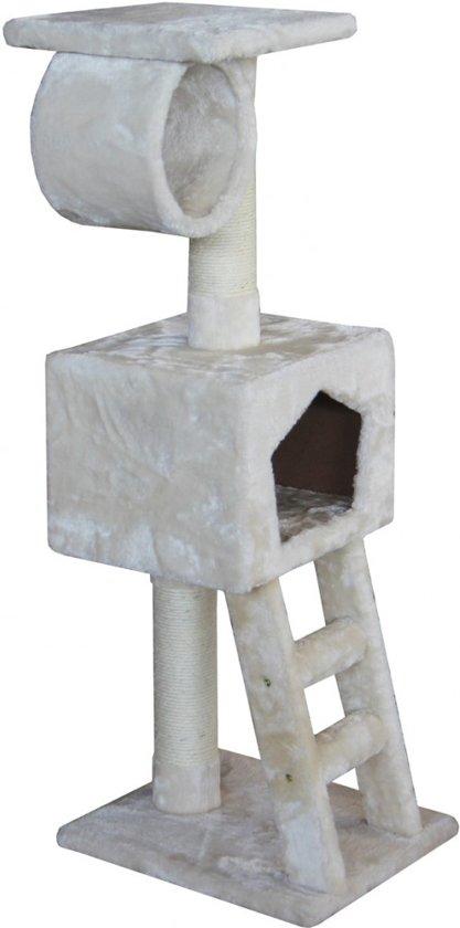 Ebi Classic Cat Tree Abigail Krabpaal - Crème - 35 x 35 x 109 cm