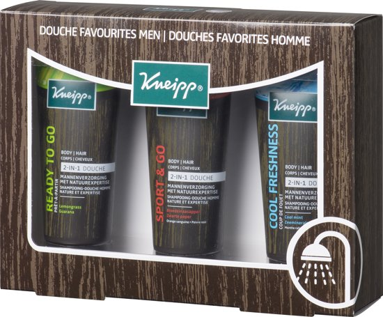 Kneipp gvp.men douche 1 st