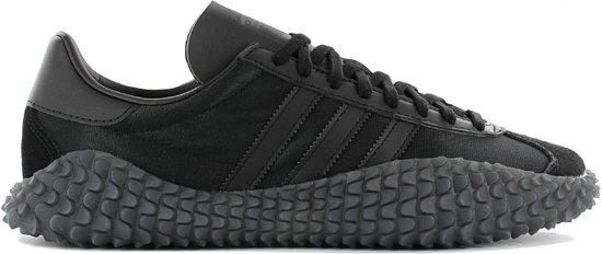 adidas Country x Kamanda Never Made Triple Black LIMITED EDITION EE3642 Heren Sneaker Schoenen Zwart Maat EU 40 23 UK 7