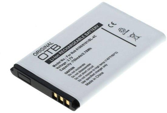 Originele OTB Accu Batterij Nokia BL-4C / BL4C - 750mAh in Michelbeke