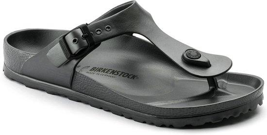 Birkenstock Gizeh EVA Normaal Dames Slippers - Metallic  - Maat 42