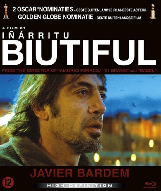DVD cover van Biutiful (Blu-ray)