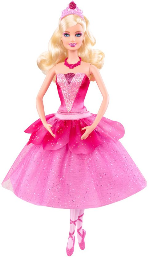 Barbie en de Roze Schoentjes - Ballerina Kristyn - Barbiepop