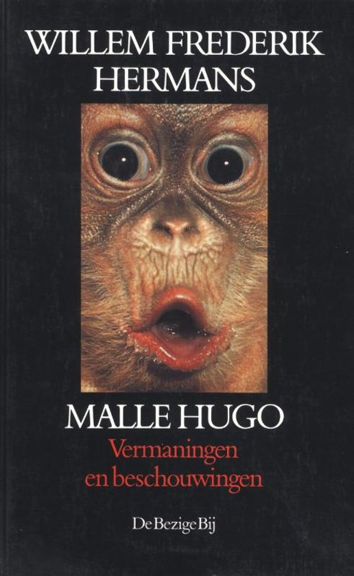 Cover van het boek 'Malle Hugo' van Willem Frederik Hermans
