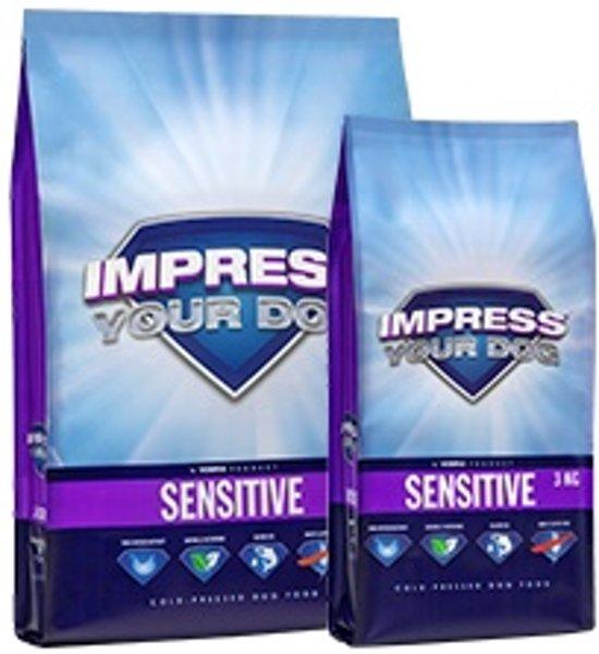 Impress your dog Sensitive Geperste Brok 12,5KG