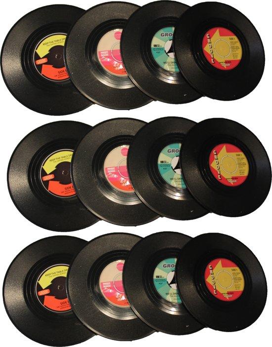 Ongekend bol.com   Leuke Onderzetter LP Onderzetter Vinyl 12 Stuks Vintage FV-81