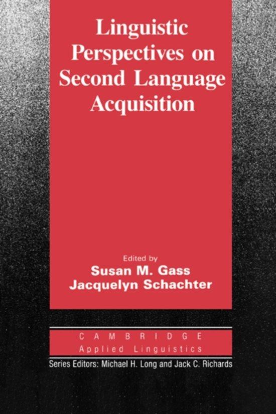 linguistics and language 2 essay