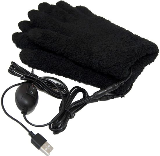Obbomed MH-1025 USB electrisch verwarmde handschoenen - verwarmings element tot in de vingers - touchscreen vingertoppen