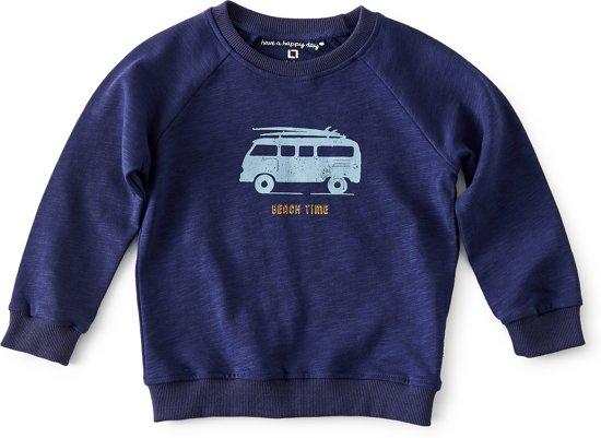 43001d70634 raglan sweater jongens - dark blue