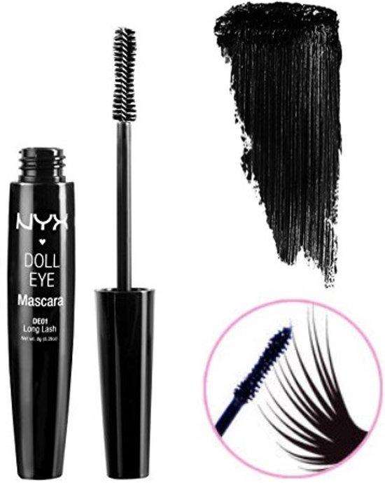 82c917a9ac1 bol.com | NYX Doll Eye Mascara Long Lash Extreme Black - DE01 Long Lash