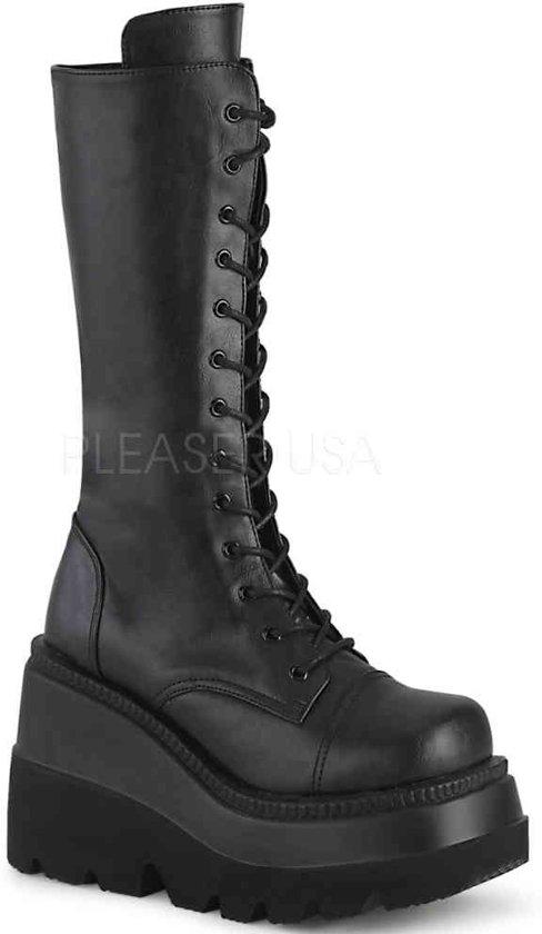 up Shaker BootSide 84 72eu Pf Mid 38Us Lace Wedge 2 Zip calf 1 jR3AqL54