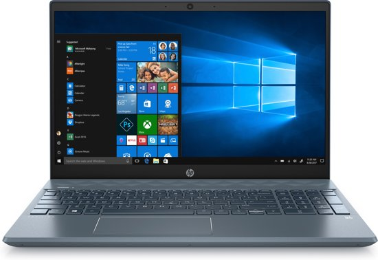 HP Pavilion 15-cs3100nd, 8 GB RAM, 16 GB Intel Optane, 256 GB SSD, 15.6 inch