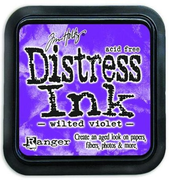 Ranger Distress Inks pad - wilted violet