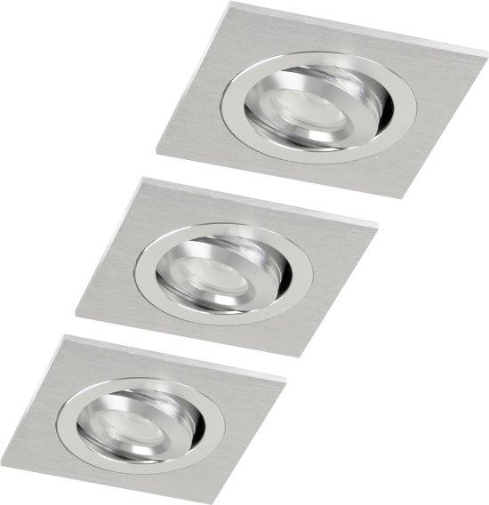 Xqlite XQ0964 Katie - LED inbouwspots - aluminium glanzende finish warm wit light XQ0964