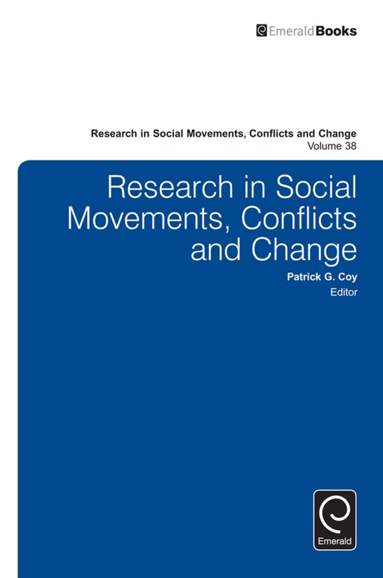 research in social movements conflicts and change Earn up to 640 points when you purchase this title this latest volume in the &quoteresearch in social movements, conflicts and change&quote series contains three sections of data-driven articles that address topics central to scholarship on social movements and conflict resolution section one.