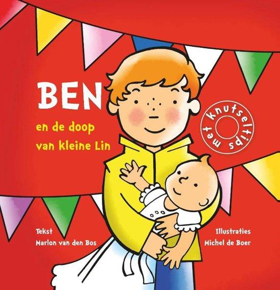 Cover van het boek 'Ben en de doop van klein Lin' van Marlon van den Bos