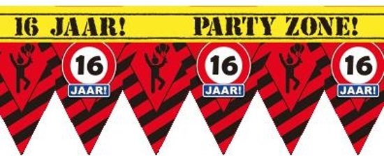Party Tape - 16 Jaar