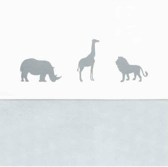 Jollein Safari Laken 120x150cm stone grey