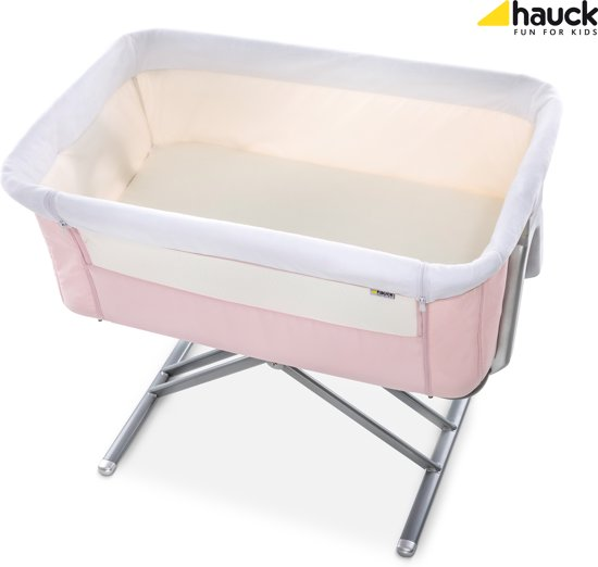 Hauck Face to Me Co-sleeper - Pink