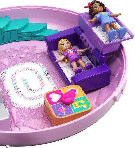 Polly Pocket Big Pocket World Donut Pyjamafeestje - Speelfigurenset