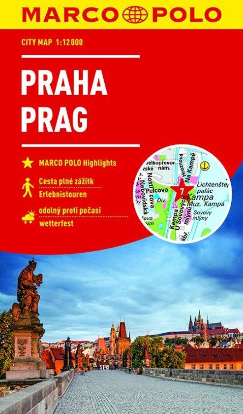 MARCO POLO City map Praag