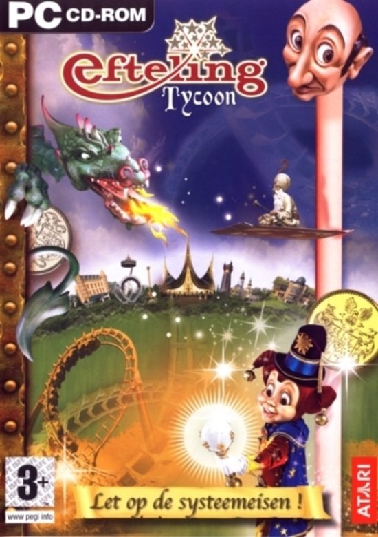 Bol Com Efteling Tycoon Windows Atari Games