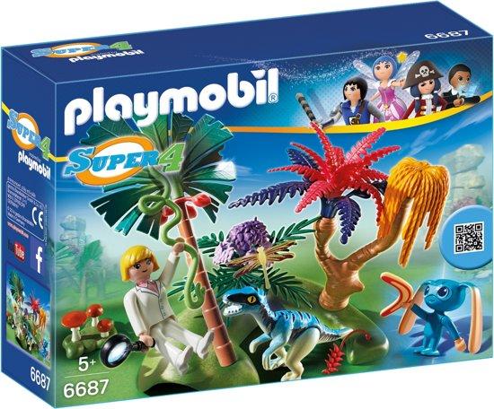 Playmobil Verlaten Wereld met Alien en Raptor
