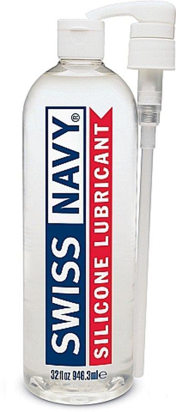 Swiss Navy Siliconen Glijmiddel 946 ml
