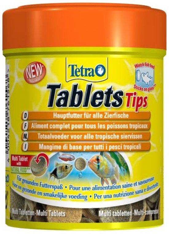 Tetra Funtips 165 tabletten voer voor tropische visjes