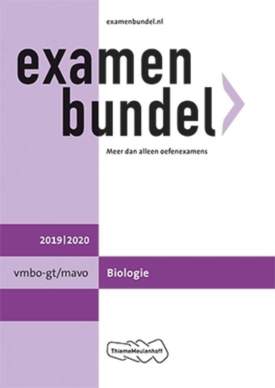 Afbeelding van Examenbundel vmbo-gt/mavo Biologie 2019/2020